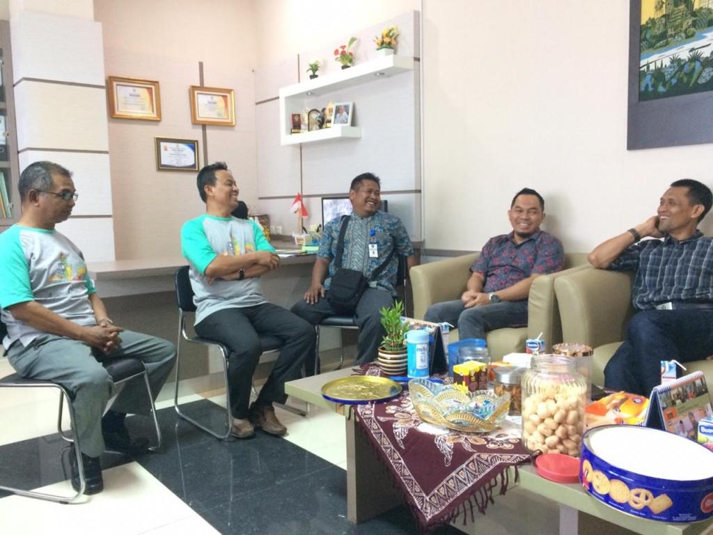 Kunjungan Silaturahmi dari Bapenda Provinsi Kalimantan Timur