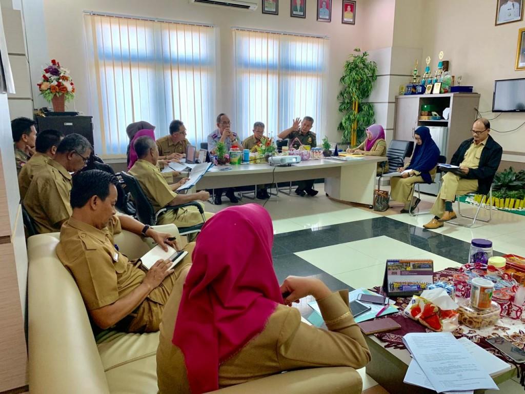 Pembahasan Rancangan Keputusan Bupati Berau terkait Peraturan Bupati Nomor 59 Tahun 2019
