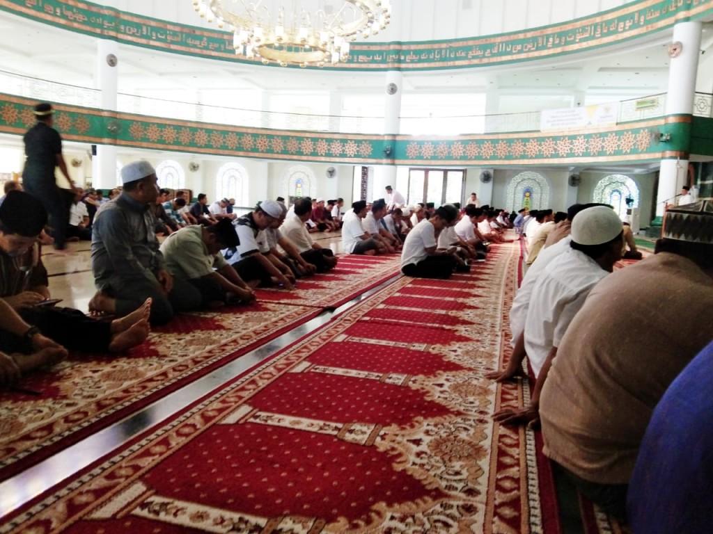 Tausiah Rutin ASN Bapenda di Masjid Agung Baitul Hikmah
