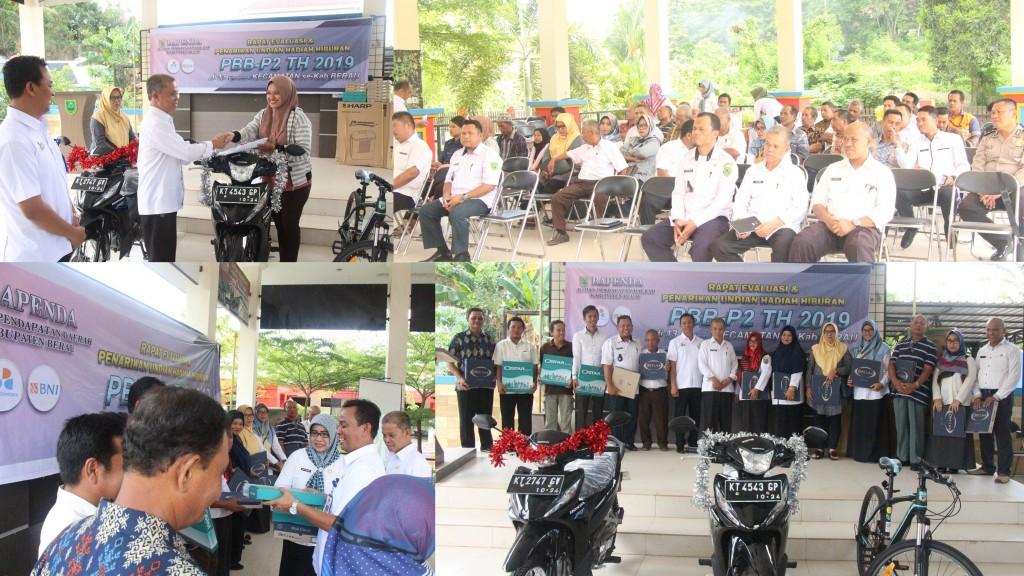 Rapat Evaluasi & Penarikan Undian Hadiah Hiburan PBB-P2 Tahun 2019 Kecamatan Tanjung Redeb