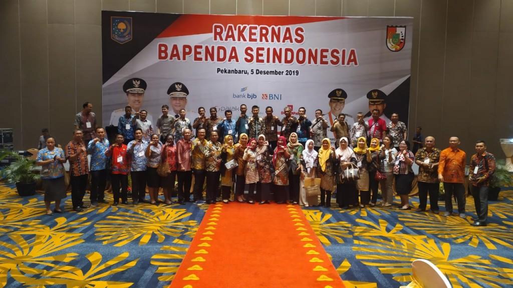 Rangkaian rapat kerja nasional (Rakernas) Badan Pendapatan Daerah (Bapenda) se Indonesia di Pekanbaru