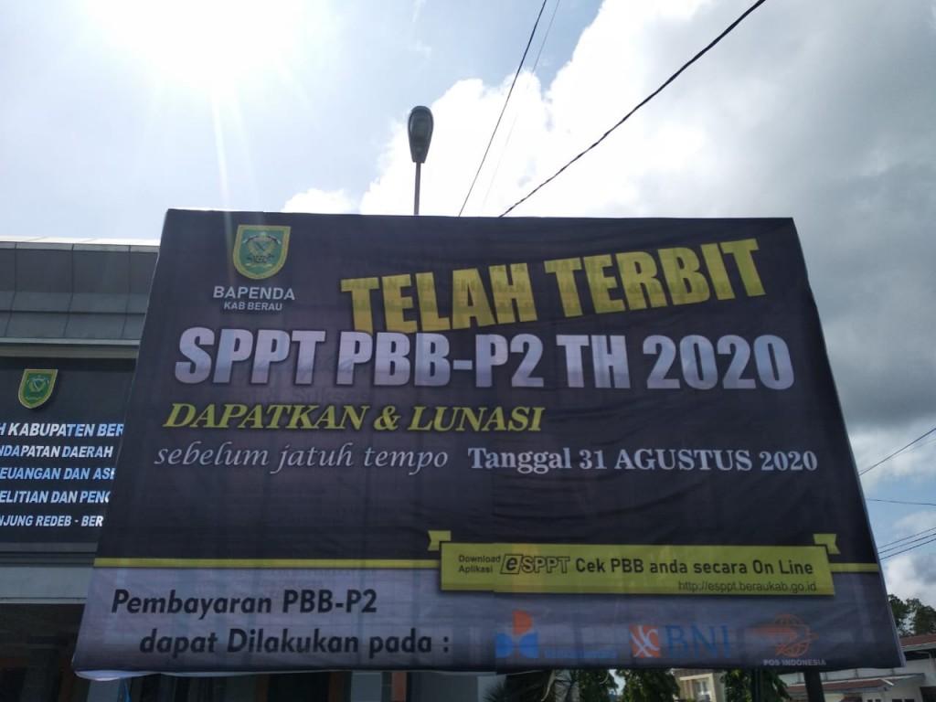 Telah Terbit SPPT PBB-P2 Tahun 2020 dan Dapatkan serta Lunasi Sebelum Jatuh Tempo