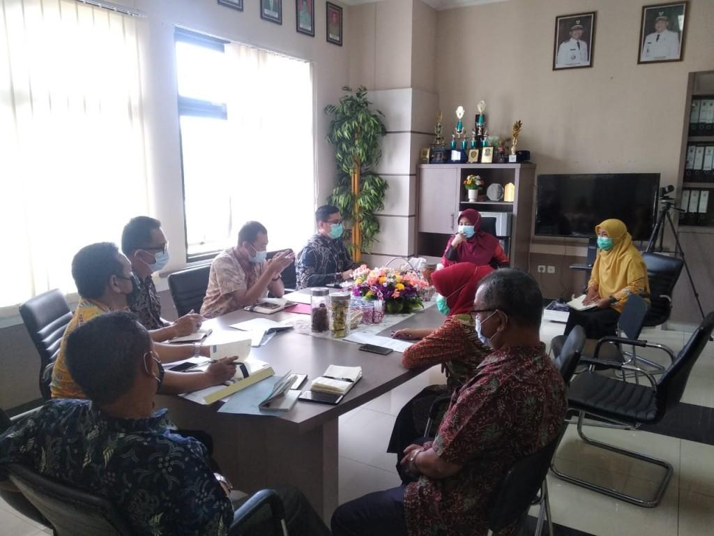 Pembahasan Kerjasama antara Badan Pendapatan Daerah Kabupaten Berau dengan Bankaltimtara Cabang Tanjung Redeb
